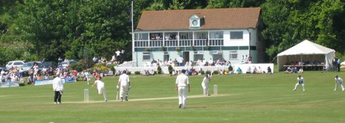 Devon County Cricket Club Exmouth Building Image