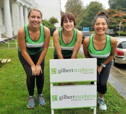 Great West Run Gilbert Stephens Solicitors team