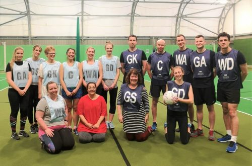 Gilbert Stephens Solicitors Netball Team