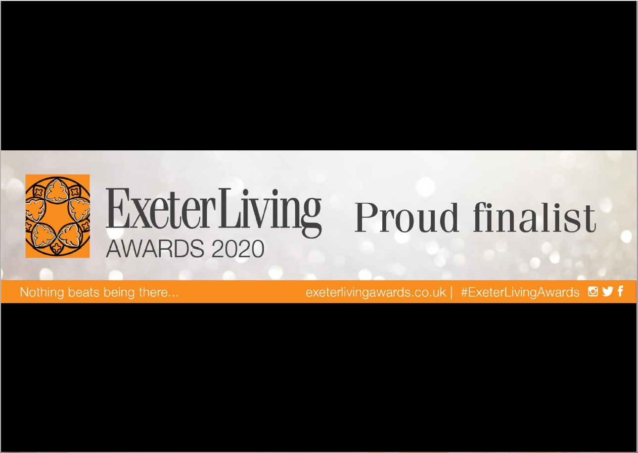 EPC Proud Finalist of Exeter Living Awards